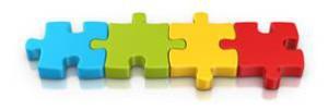 werkwijze puzzelstukjes